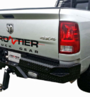 Frontier Diamond Rear Bumper Replacement