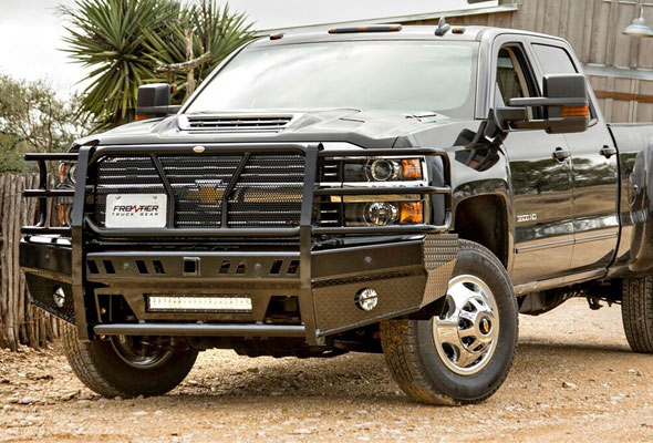 Frontier Truck Gear Chevy Fbr Lb on Tacoma Grill Guard