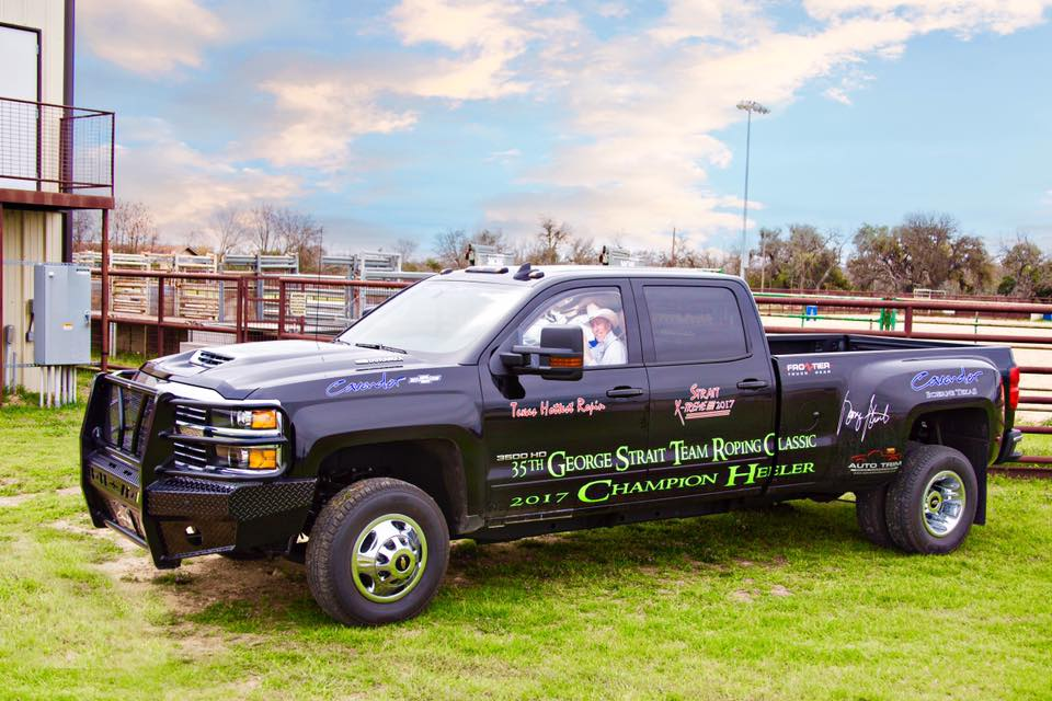 George Strait Team Roping Classic 2017 Frontier Truck