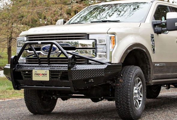 2017 Ford Super Duty F250 F450 Front Bumper Replacements