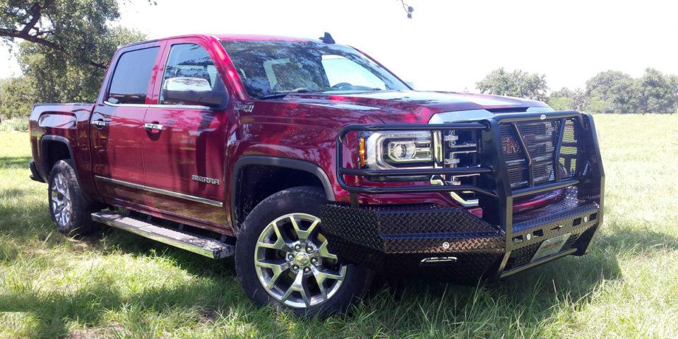 2016 GMC 1500 | Original Bumper | Frontier Truck GearFrontier Truck Gear