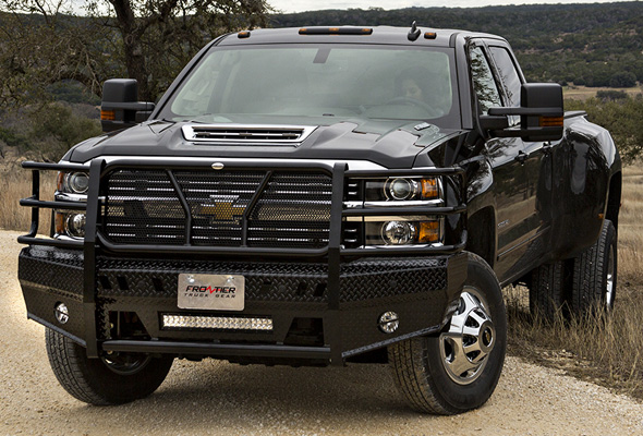 Chevrolet Dealers In Louisiana >> '15-'17 Chevy 2500HD - 3500HD | Front Bumper Replacements w/ Light Bar Option | Frontier Truck ...